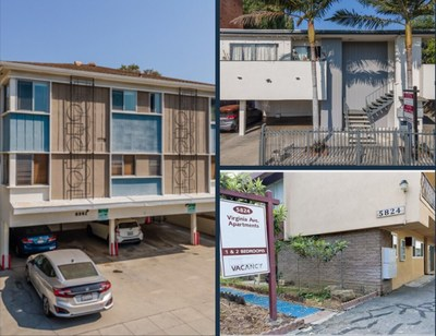 Three property Hollywood/West Hollywood portfolio.
