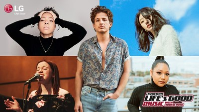 Life's Good Music Project with Charlie Puth Winners