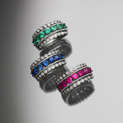 The virtue of RESILIENCE in Le Vian Platinum Collection™ pieces that only become brighter and stronger with every wear