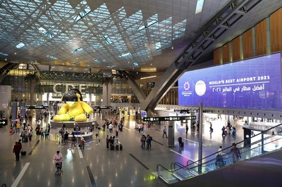 """Qatar's airport has also been awarded """"Best Airport in the Middle East"""", """"Best Airport 25 to 35 million Passengers"""", """"Best Airport Staff in the Middle East"""", and """"COVID-19 Airport Excellence""""."""