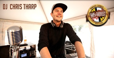 DJ Chris Tharp will play at the Hops & Harvest Festival on Oct. 2, 2021, in Columbia, MD.