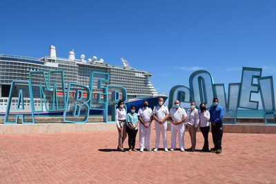 Mardi Gras Makes First-Ever Call At Amber Cove, Dominican Republic, On Maiden Voyage