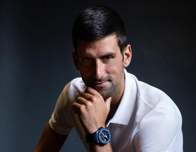 Novalk Djokovic New Hublot Ambassador (PRNewsfoto/Hublot)