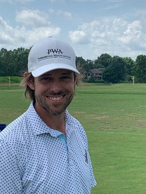 """Aaron Baddeley of the PGA Tour is the new Brand Ambassador for Professional Wealth Advisors, LLC (PWA) of Downers Grove, IL. """"PWA says that 'Wealth is about more than money', and that has always been true for me. Wealth is about family, being able to make a difference and giving back! It provides freedom so your family is secure, you can help others, and put your all into your passion. My passion is golf and I am blessed to make it my career."""""""