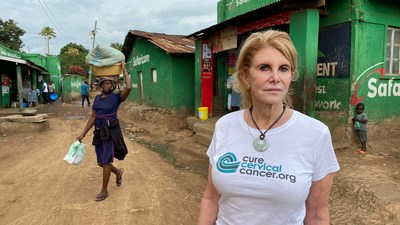 Patricia Gordon, M.D. has been named CNN's new hero for her global impact in Cervical Cancer Prevention