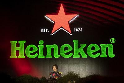 DJ, producer and singer Nina Kraviz performed at the Heineken® Greener Bar in Milan on Friday night to celebrate the start of the weekend's racing action at the Formula 1 Heineken Gran Premio d'Italia 2021