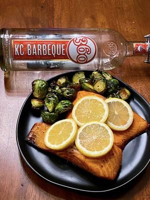 360 KC Barbeque Vodka Brined Wild Salmon (Mindy Hargesheimer, Kansas City Bucket List)