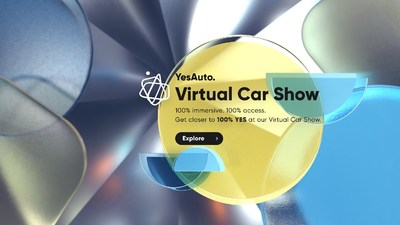 The YesAuto Virtual Car Show will take place from 30th August until 30th September 2021 - and everyone is invited to navigate the unique exhibition of new and used cars