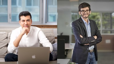 [from left to right] Sourabh Gupta, Co-founder and CEO of Skit and Akshay Deshraj, Co-founder and CTO of Skit
